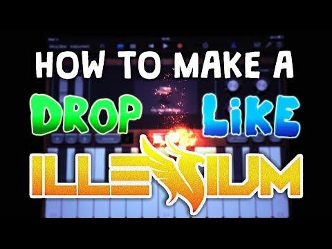 How to make a DROP like Illenium in Garageband (iPad & iPhone)