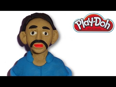 Making of Human Face From Play-Doh