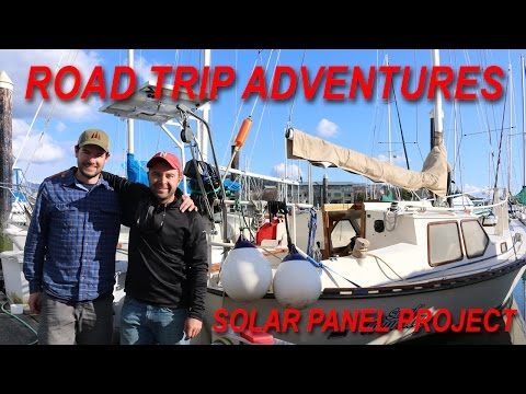 Road Trip Adventures and a Solar Panel Project for out at Sea