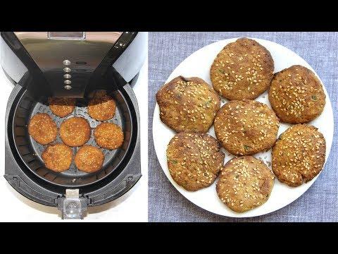 Air Fryer Bajra Makai Methi Dhebra/Thepla Video Recipe | Bhavna's Kitchen