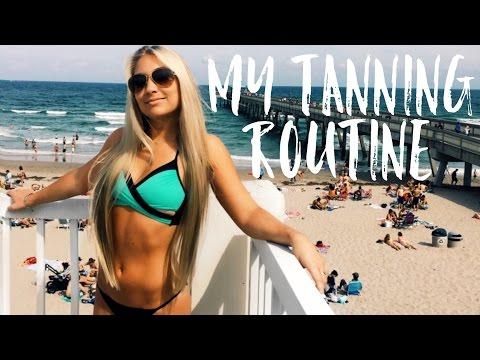 🔆 My Tanning Routine! 🔆