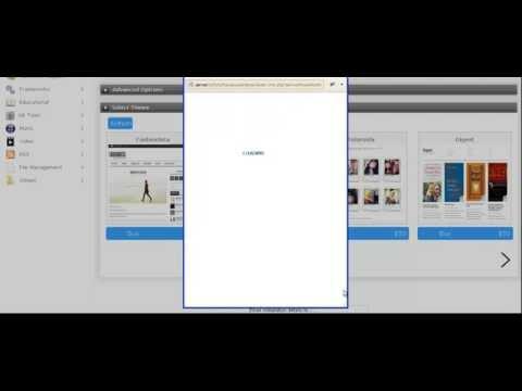 Install WordPress via Softaculous with paid theme