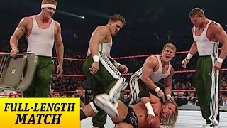 Mr. McMahon forces Triple H to run the Gauntlet against The Spirit Squad