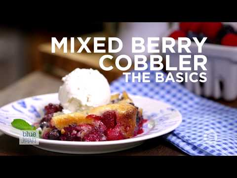 How to Make Berry Cobbler - The Basics on QVC