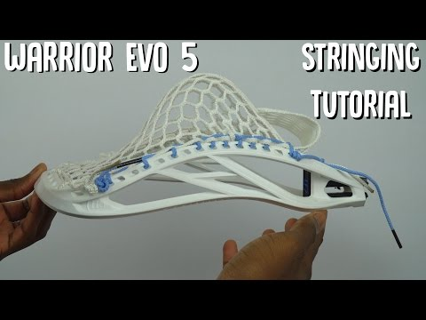 How to string a Warrior Evo 5