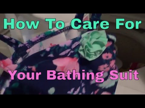 How to care for swimsuit!!