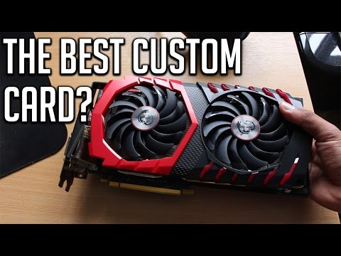 MSI Gaming X 1070 FULL REVIEW - The best custom card?