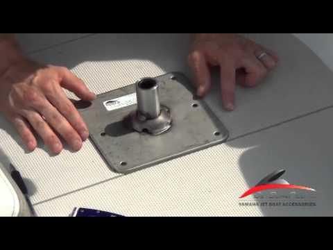 Yamaha Jet Boat Fishing Seat Pedestal Install Video