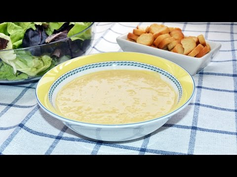 How to Make Caesar Salad Dressing - Easy Homemade Caesar Sauce Recipe