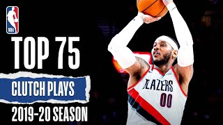 Top 75 MOST Clutch Plays | 2019-20 Season