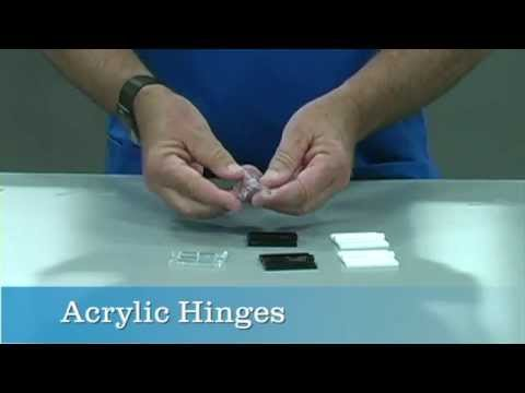 Acrylic Hinges