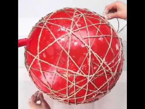 DIY - FUN WITH TWINE BALLS