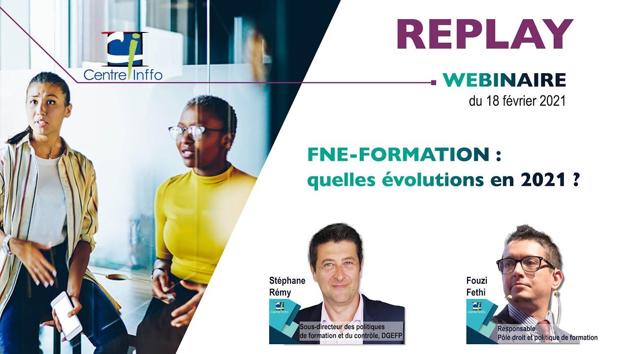 FNE-Formation : quelles évolutions en 2021 ?