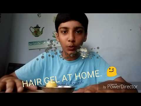 Make hair gel in 1 minute in home 😋 PART:1