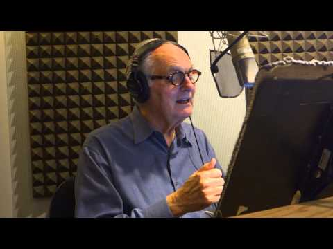 Arlene and Alan Alda in the studio for Just Kids from the Bronx