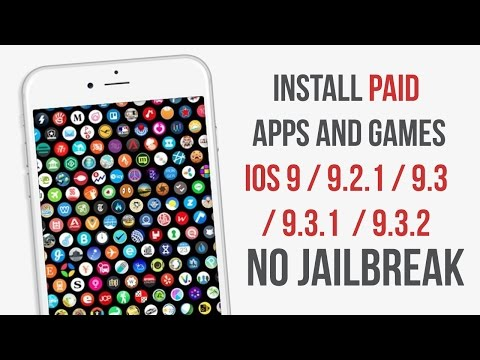 Install Paid Apps for Free IOS 9/ 9.3 / 9.3.1 / 9.3.2 / 9.3.3 No Jailbreak