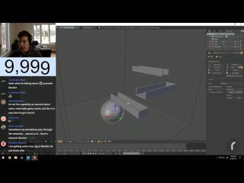 10k Livestream! Doing Random Stuff in Blender!
