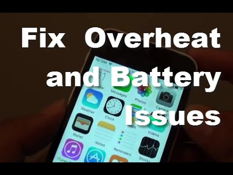 iPhone 5C: Fix Overheating and Battery Issues