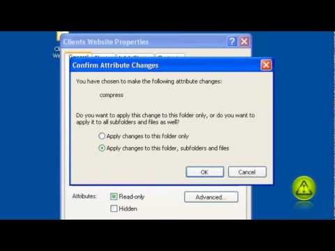 How to Compress and Decompress folders Windows 7, XP, Vista