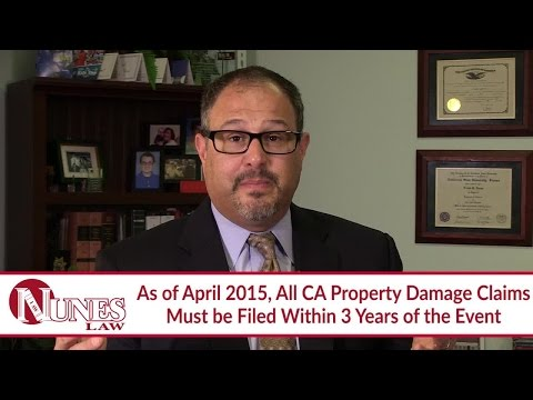 How Long Do I Have To File A Lawsuit For A Car Accident | CA Attorney Frank Nunes Explains