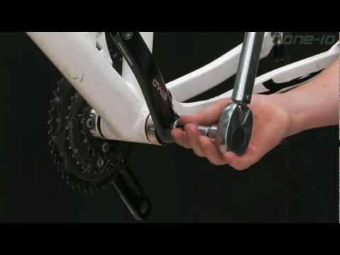 Replacing an External Bearing Crank