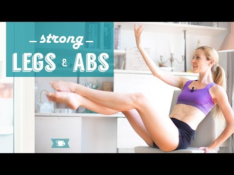 Lean Ballerina Legs and Abs Workout
