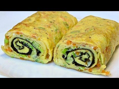 Best Egg Roll Omelette-Tamagoyaki-Japanese Omelette roll-Kitchen Basics