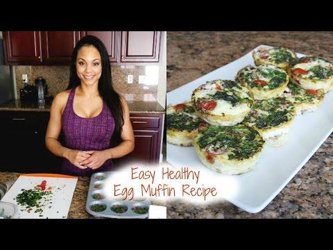 Quick, Easy, Healthy Egg Muffin Recipe