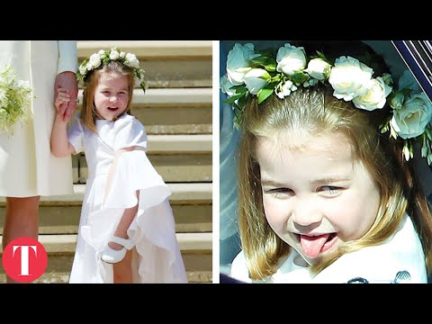The Royal Children Who Stole The Show At The Royal Wedding