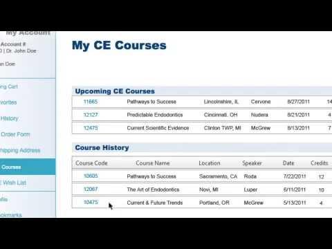 Managing Dental Continuing Education Credits