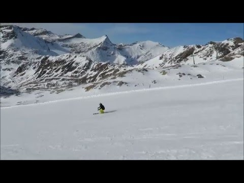 Race carving turns, speed carving ski technique and tips