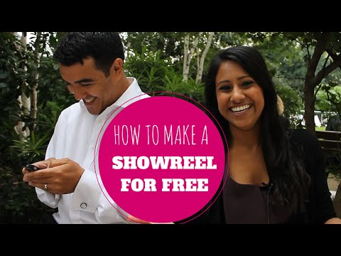 How to make a showreel for FREE