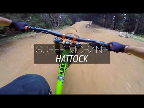 VTT DH / La piste noire Hattock de Morzine