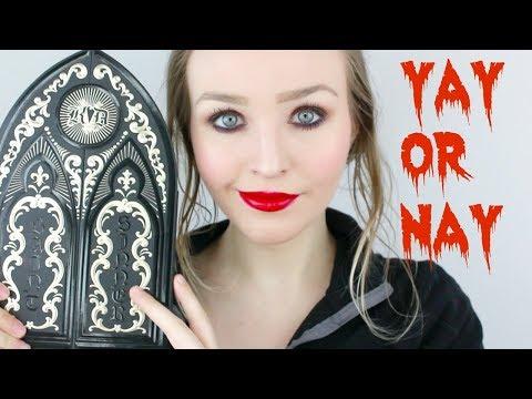 Kat Von D Saint & Sinner Eyeshadow Palette • Review, Swatches, & Comparison!