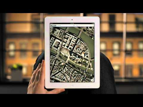 Apple iPad 2 Guided Tour - Google Maps