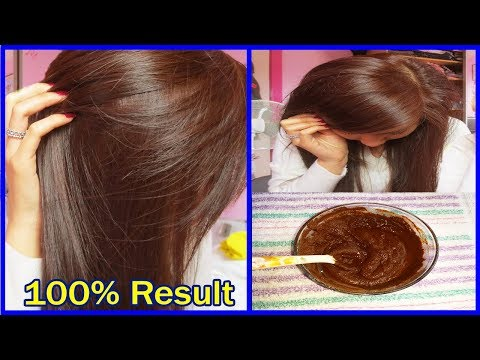 How to Get Natural Brown Hair in 2 Hours | Brown Hair Color Dye | AHWB