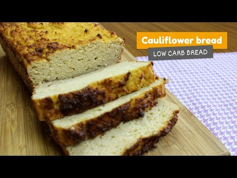 Cauliflower bread | Low Carb Bread #9
