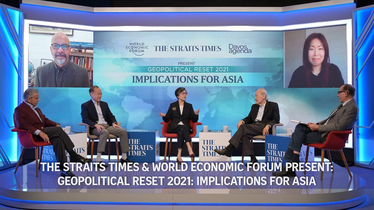 Geopolitical Reset 2021: Implications for Asia | ST-WEF Webinar | Davos Agenda 2021