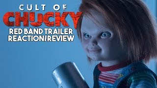 CULT OF CHUCKY (2017) Red Band Trailer REACTION/REVIEW