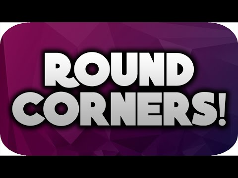 How To Make Thumbnails With ROUND Corners!