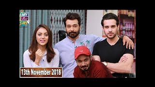 Salam Zindagi With Faysal Qureshi - Mariam Noor & Usama Khan - 13th November 2018