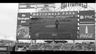 Wale Speaks On His Fan Base & Throws Opening Pitch At Nationals Game