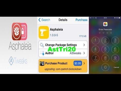 How To Lock Apps On iOS 7 For iPhone,iPod,iPad Mini Retina By Cydia Tweak [Asphaleia]