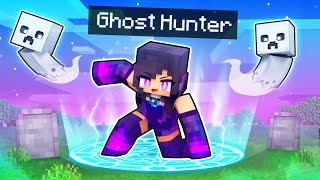 Playing Minecraft As A GHOST Hunter!