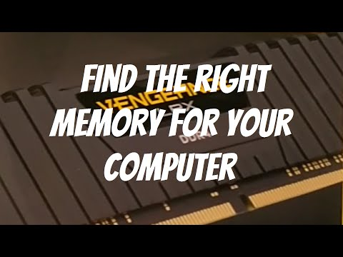 Find the right memory for your computer