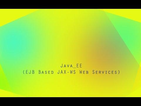 JavaEE - Simple WebService (EJB, JAX-WS)