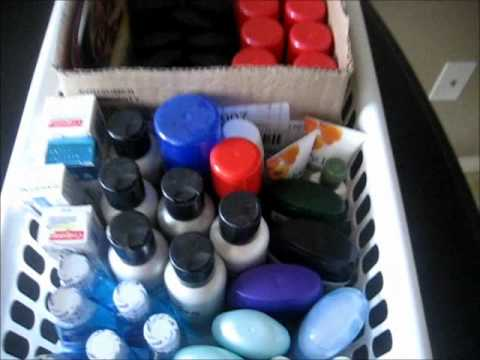 Organize Travel Size Items: A Few Tips