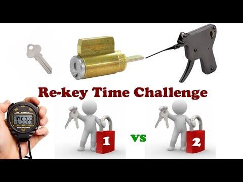 Locksmith speed test Change PD Cylinder