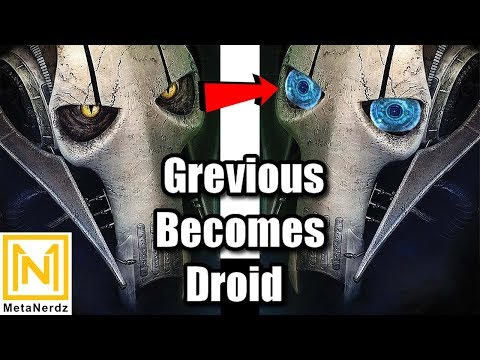How Darth Bane, Thrawn, and Grievous CONNECT to NK-Necrosis - Star Wars Droid Lore