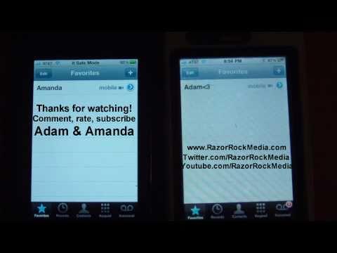 Apple iPhone 3GS Running FaceTime On Jailbroken Firmware 4.2.1 Using FaceIt